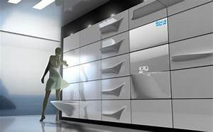 Fluid wall: Unique space saver concept bathroom - Hometone
