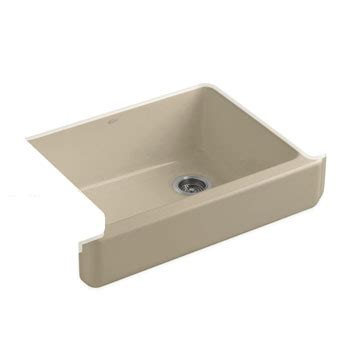 kohler whitehaven sink 33 kohler k 6486 33 whitehaven self trimming apron front