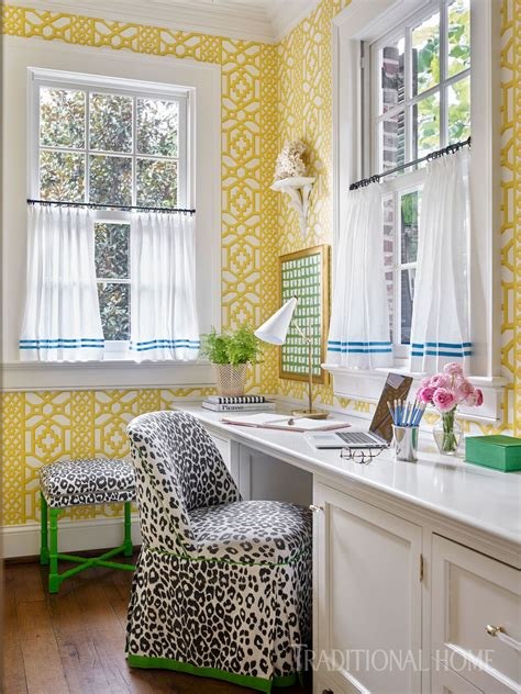 nashville home with pretty color and pattern traditional