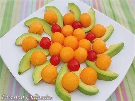 recette cuisine vegane salade de melon et avocat
