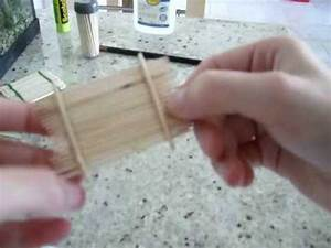Faire Un Thé Glacé : comment faire un radeau en cure dent partie 1 3 youtube ~ Dode.kayakingforconservation.com Idées de Décoration