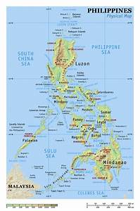 Physical Map Of Philippines In 2020