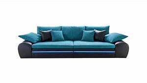 Big Sofa Led Beleuchtung : big sofa dubai in schwarz t rkis inkl rgb led beleuchtung ~ Bigdaddyawards.com Haus und Dekorationen