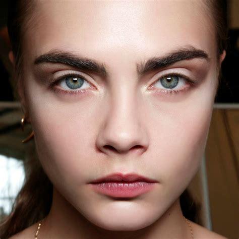 great eyebrow debate groomed  natural thefashionspot