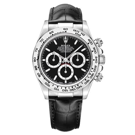 Pre-Owned Rolex Daytona Cosmograph Automatic White Gold ...
