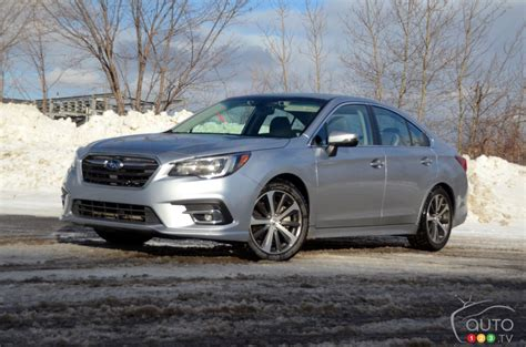 2019 Subaru Legacy Review by 2019 Subaru Legacy 3 6r Review Car Reviews Auto123