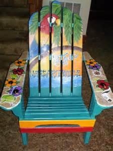 jimmy buffett adirondack chair funky patio ideas