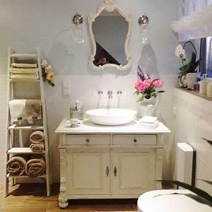 Landhaus Shabby Chic : badm bel landhaus waschtisch antik bathroom ideas pinterest shabby junk chic cottage and ~ Bigdaddyawards.com Haus und Dekorationen