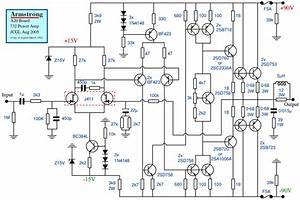 Audio Power Amplifier Schematic