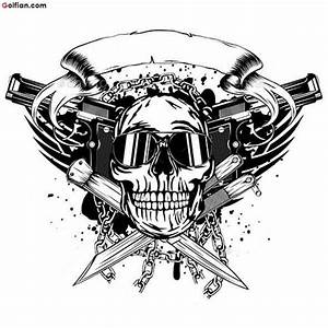 65+ Horrible Army Skull Tattoo Pictures – Scary Skull ...
