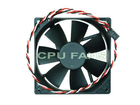 nidec ta350dc fan 92mm fan w dell 3 pin plug replaces nidec beta v ta350dc
