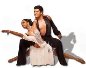 Dancing Salsa Latin Dance