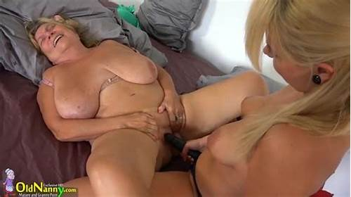 Strap On Porn In The Bedroom With A Panda #Horny #Mature #Strapon #Lesbians #In #Hot #Bedroom #Session
