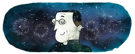 google doodle celebrates  birth anniversary  astronomer  big bang theory georges