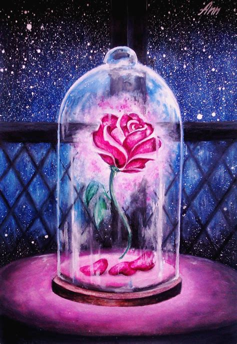 Beauty And The Beast Enchanted Rose Quotes