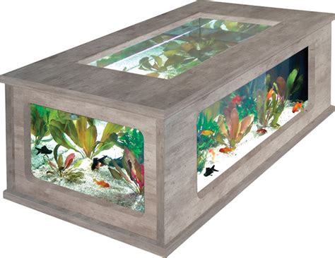 table basse aquarium pas chere 192 litres aquatlantis animaloo