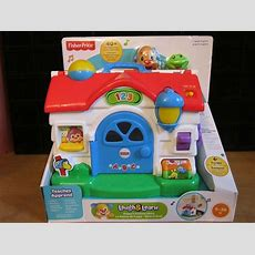 Fisherprice Laugh And Learn Puppy's Activity Home Toddler Musical Playing House Ebay