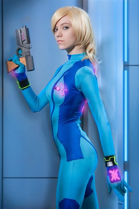 Zero Suit Samus Cosplay By Kanína Photo By Iconiq Cosplay