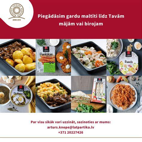 Ēdienu piegāde - Latvijas pārtikas ražotājs