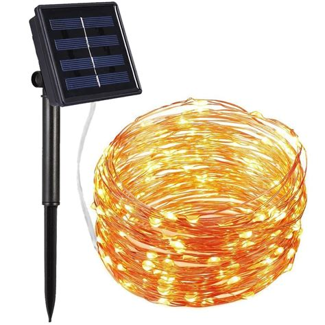 solar powered lights best solar powered string lights ledwatcher