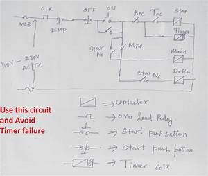Star Deltum Starter Control Wiring Diagram With Timer Pdf