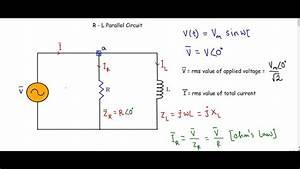 R-l Parallel Ac Circuit