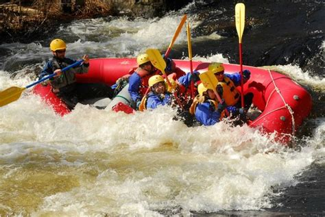 Thin Wire  Picture Of Whitewater Challengers, North River