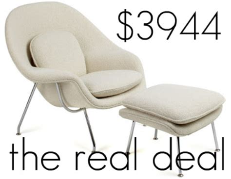Womb Chair And Ottoman Knock by Laurendy Knock It Knoll Womb Chair Ottoman