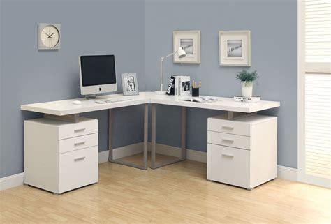 small computer desks for home corner study desk with hutch modern white high gloss
