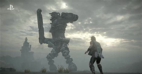 Shadow Of The Colossus Ps4 Remake Gets A New Trailer At