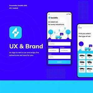 Socialex Ux  U0026 Brand On Behance
