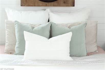 Pillow Bed Euro Shams Bedding Arrange Textured