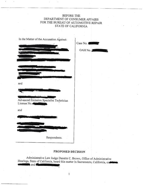bureau citation bureau of automotive repair accusation automotive