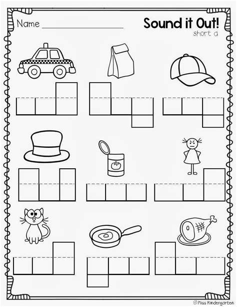 cvc worksheet new 122 cvc worksheets for kindergarten free