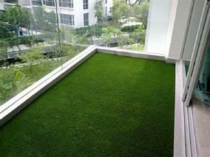 kunstrasen fur balkon terrasse oder garten tolle With balkon teppich mit innenputz statt tapete