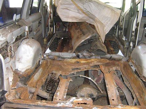 rust jeep should cherokee xj frame wrangler floor yj