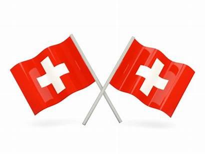 Flag Switzerland Kyrgyzstan Flags Wavy Clipart Transparent