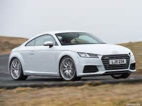 Audi Tts Coupe Backgrounds by 2017 Audi Tts Coupe Uk Spec Front Three Quarter Hd