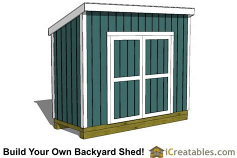4 x 10 shed 4x10 lean to shed plans outdoor garden shed small shed