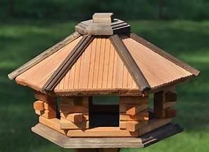 Vogelvilla Selber Bauen : futterhaus vogelh uschen vogelfutterhaus vogelvilla vogelhaus aus holz 25 11 440 polen ~ Markanthonyermac.com Haus und Dekorationen