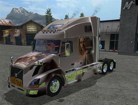 volvo 870 truck volvo 780 pernille truck farming simulator 2017 mod fs