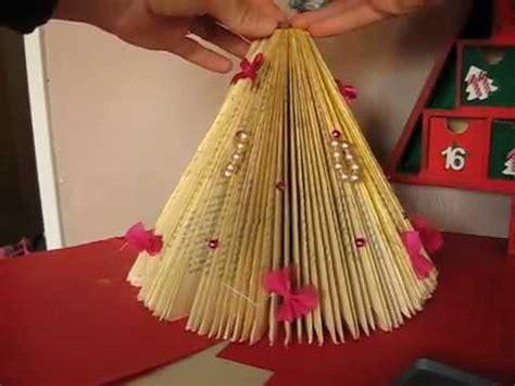 Pliage Livre Sapin Deco Table Noel Livre Sapin Origami 001