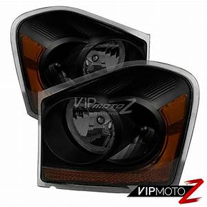 2005 Dodge Durango Light Replacement 2004 2005 Dodge Durango Sinister Black Replacement
