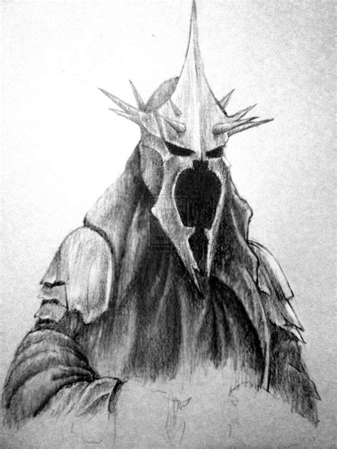 The Lord Of The Rings, Drawing, Witchking Of Angmar