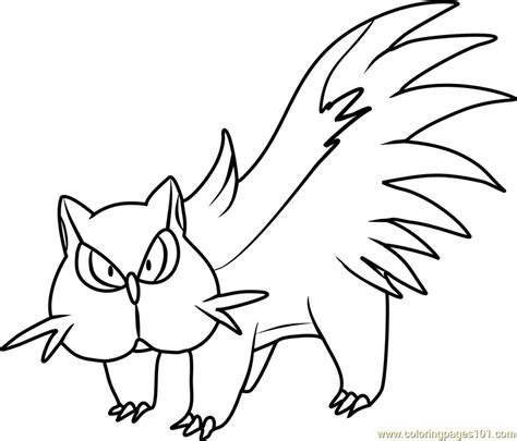 stunky pokemon coloring page  pokemon coloring pages