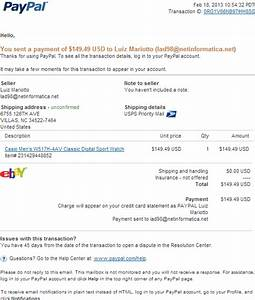 Paypal Fake Rechnung : email phishing scam fake paypal receipt for your paypal payment email spam posing as service ~ Themetempest.com Abrechnung