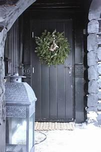 decorer sa porte d39entree pour noel a lire With decorer sa porte d entree