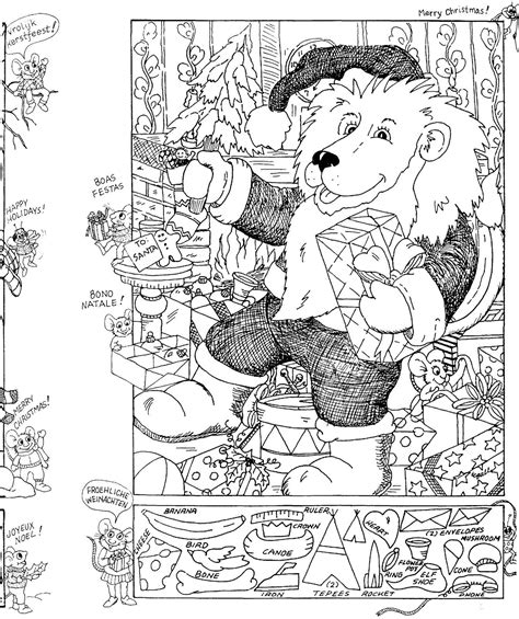 Hidden Pictures Publishing Christmas Hidden Picture