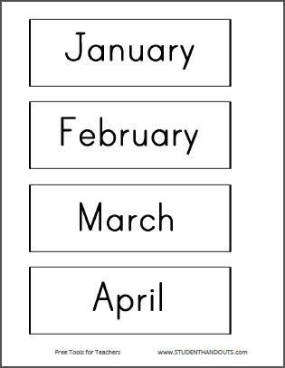 diy classroom bulletin board calendar student handouts