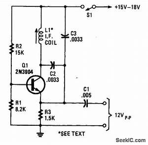 Simple Rf Test Oscillator - Oscillator Circuit